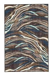 blue and brown area rug continental furniture ash blue brown area rug