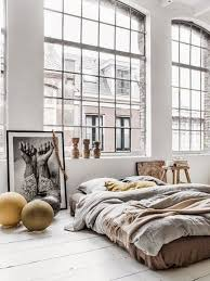 Modern Industrial Bedroom Stock Photo Modern Industrial Bedroom In A Loft D Rendering By