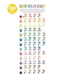 Skillful Wilton Candy Melts Color Chart Icing Coloring Chart