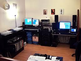 amazing office desk setup ideas 5. Lovely Computer Desk Setup Ideas With Best Gaming 2015 5488 Amazing Office 5 Z