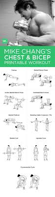 visit workoutlabs workout plans mike changs chest and bicep