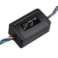 12v Motorcycle Blinker Flasher Relay Double Flash Fuse Turn Signal Light Indicator Resistor