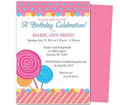 Birthday Invitations Templates Free For Kids Oddesse Info