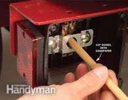 fix bad boat and utility trailer wiring the family handyman sand corroded sockets