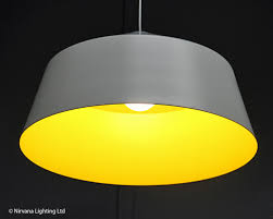 Image Ceiling Big Top White Yellow Pendant Light Sotto Luce Big Top White Yellow Pendant Light Nirvana Lighting Nirvana Lighting