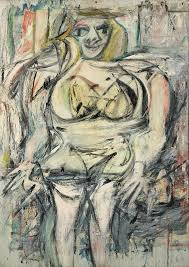 woman iii by willem de kooning this oil painting was one of the six in