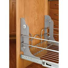Kitchen Waste Bin Door Mounted Rev A Shelf Pull Out Trash Can Mounting Kit Lowes Canada