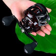 Fishing <b>Baitcasting</b> Reel All Metal Spool 18+1BB <b>10kg</b>/22LB <b>Max</b> ...