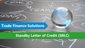 Standby Letter Of Credit Sblc Mt 760 Bronze Wing Trading