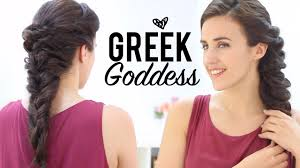 Goddess Hair Style Greek Goddess Hairstyles Tutorial Youtube 2474 by wearticles.com