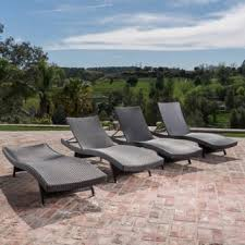 image outdoor furniture chaise. Oliver \u0026 James Baishi Outdoor Lounge Chairs (Set Of Image Furniture Chaise G