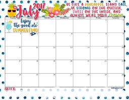 July-2017-Calendar - inkhappi