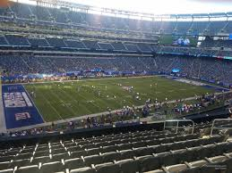 Giants Stadium Football Seating Chart Metlife Stadium Section 218 Giants Jets Rateyourseats Com