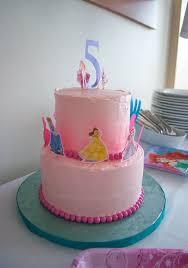 Make An Easy Disney Princess Birthday Cake Using Stickers Yes