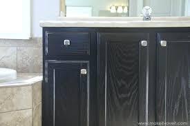 dark stained kitchen cabinets. Staining Oak Cabinets Darker Stain Kitchen Cabinet How To Dark Stained