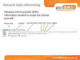 Harvard Style Referencing Ppt Download