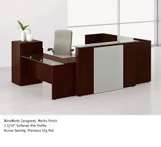sleek office furniture. waveworks reception workstation national office furniture sleek k