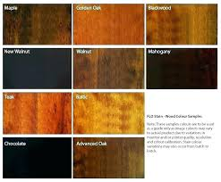 Wood Furniture Stain Color Chart Colors Of Wood Stain Cooksscountry Com