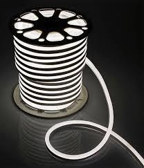 Гибкий неон «<b>LED Neon</b>-<b>Light</b>» <b>15х25мм</b> 1 м белый — LedWorks