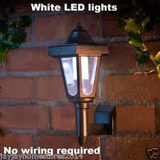 no wiring lighting. Image Is Loading Solar-Powered-No-wiring-Required-Coach-Style-Wall- No Wiring Lighting