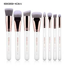 eigshow professional brush kits 8 pcs sculpt and blend brush kit rose gold