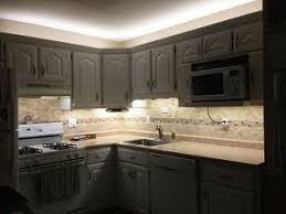 under cupboard led lighting strips. NFLSK-NW300-UC Under Cabinet LED Flexible Light Strip Kit Used To Outfit Kitchen  Cabinets With Over And Under Lighting. Cupboard Led Lighting Strips N
