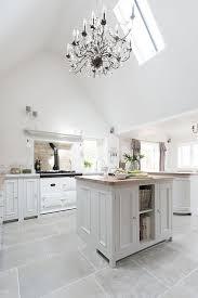 white kitchen floor tiles. 9+ Kitchen Flooring Ideas   Design \u0026 Pictures To Inspire You - NvH White Floor Tiles H