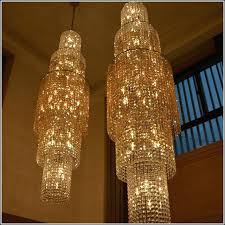 floor chandelier the rotating floor stairs chandelier hotel double floor long chandelier modern lighting for high