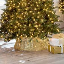 Mesh Christmas Tree Light Covers What Are Christmas Tree Collars Where To Get Them