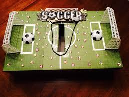 Boy Valentine Box Decorating Ideas Soccer Valentine's Day Box Holidays Pinterest Box Holidays 87