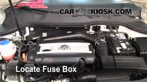 blown fuse check 2006 2010 volkswagen passat 2010 volkswagen engine compartment fuse block at Fuse Box Engine