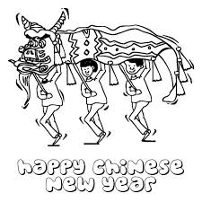 Small Picture Chinese New Year with Dragon Festival Coloring Page Chinese New