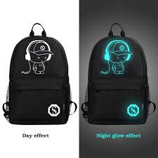 <b>Senkey Style</b> Student <b>School</b> Backpack – Luminous Charging ...