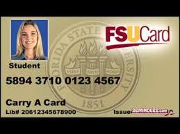 Ticket Fsu - Policy Youtube Student