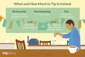 Tipping Chart Usa Tipping In Ireland Who When And How Much