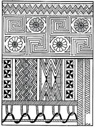 navajo coloring pages for adults easy native designs to color best grown up51 navajo