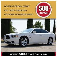 a car with no credit and no down payment