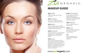 How To Apply Makeup Chart Makeupview Co