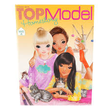 top model depesche homestory colouring book 7887 24 pages amazon co uk toys games