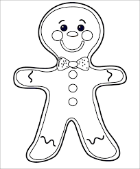 cute gingerbread man coloring pages. Fine Pages Funny GingerBread Man Template On Cute Gingerbread Coloring Pages M