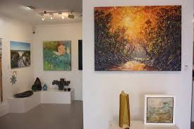 black door gallery has an ever changing mix of artworks by local artists