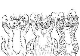 Kleine Katjes Kleurplaat