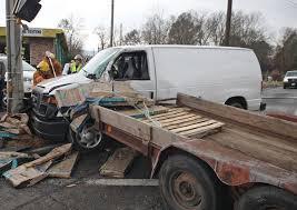 Four Hurt in Interstate 80 Crash U Haul Trailer Once Again Trailer Sway