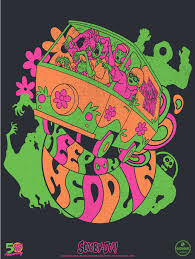 Rick And Morty Light Up Poster Scooby Doo Black Light Poster Loot Crate