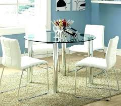 ikea small dining table expanding table round glass dining rh shalominc info ikea round glass dining