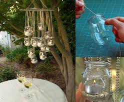 diy recycled glass chandelier diy projects