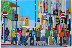 saatchi art artist fabio coruzzi painting road without exit anarchy in uk