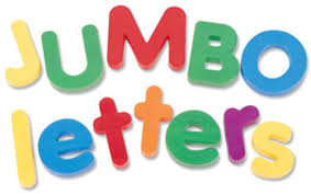 PR Jumbo Letters and Numbers