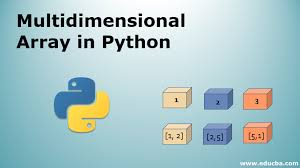 multidimensional array in python