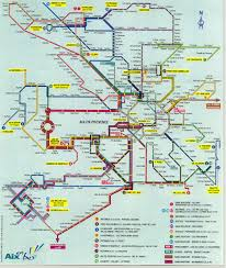 practical information Maps Aix En Provence a map of the bus services in aix en provence map aix en provence france